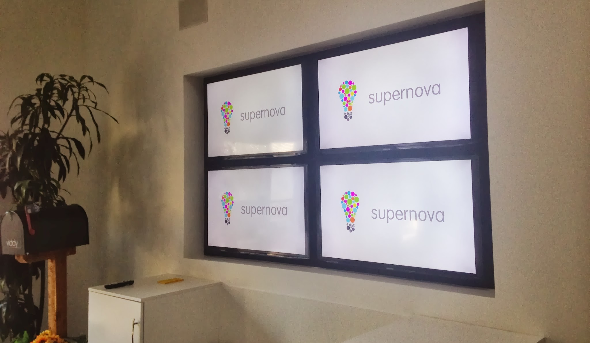 Supernova Logo at HQ
