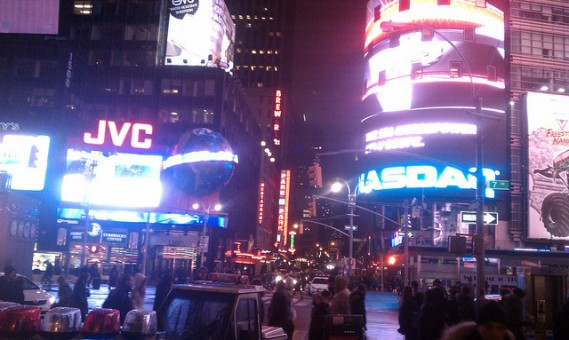 My Picture of Times Square